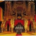 安国寺の本堂内部