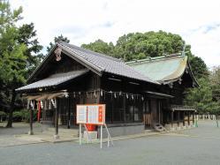 名島神社と名島城跡