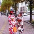 和服大变身!男性也OK 「穿着和服于街道漫步」