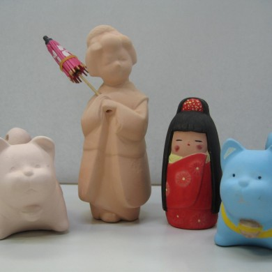 Try decorating Hakata dolls