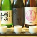 5種類の日本酒をテイスティングできるプランです。