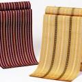 """시대와 함께 발전해 가는 """"하카타 직물""""은 백 등 다양한 상품에 사용되고 있습니다."""