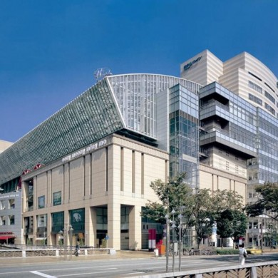 HAKATA RIVERAIN MALL by TAKASHIMAYA