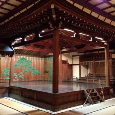 Noh Theater of Sumiyoshi Shrine