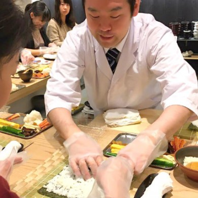 Sushi workshop experience