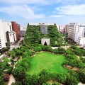 Tenjin Chuo Park and ACROS Fukuoka