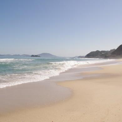 姉子の浜の鳴き砂