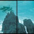 《濤声》(部分)昭和50年(1975)唐招提寺所蔵 【通期】