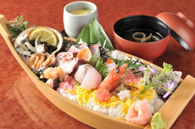 Japanese inn priding itself on its cuisine Hamakoya