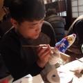 博多伝統工芸絵付け体験「博多町家」ふるさと館