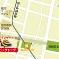 福岡公演地図