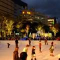 警固公園「TENJIN HIKARI SQUARE」アイススケートリンクやイルミネーショ …