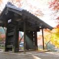 秋月「黒門」の紅葉