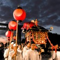 The Goshinko Ritual (Portable Shrine Procession) Performed in Every Two Years