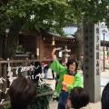 昨年の様子(櫛田神社)