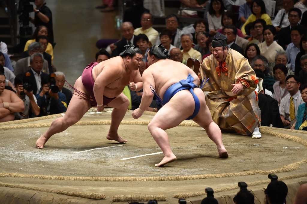 Photo courtesy: Japan Sumo Association