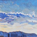 稜線と雲  © Nicolas Depetris