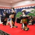 博多券番の芸妓衆による祝舞(第35回開催時の様子)