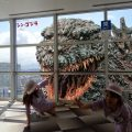 Godzilla invades Fukuoka Tower! [Fukuoka Tower] First collaboration …