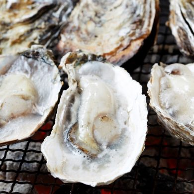 The Tastes of Winter in Fukuoka - Karatomari Ebisu Oyster Tasting!