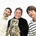 フクロウとの記念写真 「アニマルオールスターズ」特別展拡大企画!【マ …