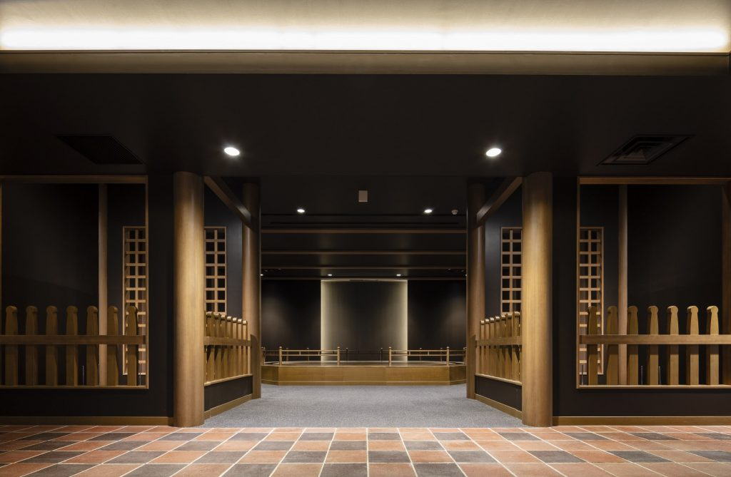 1F Collection room Tokoin Buddhist Art Hall (Photographed by Shintaro Ueda, SS Co., Ltd)