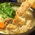 【博多と言えばやっぱり水炊き!】つくねが絶品です!!