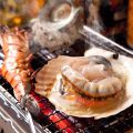[長浜鮮魚市場直送]%0A玄界灘の豊かな漁場で獲れた海鮮を浜焼きで
