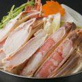 カニ鍋!【かにすき鍋】丸海屋人気NO.1のお鍋2980円