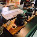 コーヒーの試飲スペースもあります。