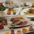 『季節のコース』和洋にとらわれない彪夢オリジナルの料理各種