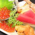 その日仕入れた鮮魚が自慢☆カルパッチョ4点盛りは一番人気