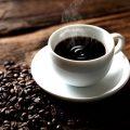 ランチで好評のコーヒー、夜でも提供してます。