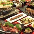 お得なこうづき人気メニューが味わえるコース料理は¥3000〜