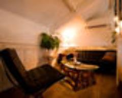 路地裏の隠れ家に屋根裏部屋の半個室。%0A4名〜要予約