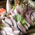 旬の鮮魚が楽しめる「刺身の盛合せ」はおすすめ!