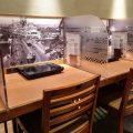 テーブル40席、カウンター5席