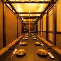 最大32名様まで対応可能の大個室。会社のご宴会にも最適です。