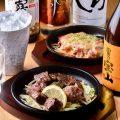 【熱っ!鉄板料理】%0Aジュージュー焼ける音が食欲を刺激する!