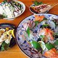 新鮮な刺身から揚げ物まで、魚料理も充実!!