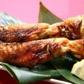 朝引き鶏を使用しているので、串焼きはどれも新鮮で美味しい!