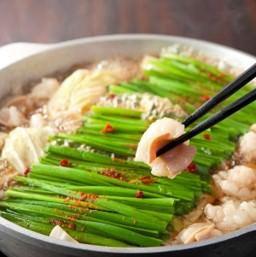 【もつ鍋】%0A特製味噌と醤油からお好きな味をお選びください