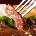 ジューシーで食べ応えのあるお肉料理を是非お召し上がり下さい。