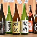 日本酒や焼酎も豊富にご用意!コースでは飲み放題も楽しめます♪
