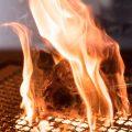 炭火で焼く「鶏ももの炭火焼」絶品です!