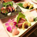 飲み放題付きコースは4500円〜ご用意!対馬産鮮魚が楽しめる♪