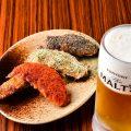 【3種の手羽先】%0Aジューシーでビールとも相性抜群!