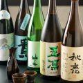 季節の日本酒取り揃え
