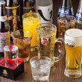 【選りすぐりのお酒】%0A宴席を彩るドリンクを豊富にご用意!!