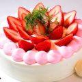 【特製ホールケーキ】%0Aコースで楽しめるシェフ特製ホールケーキ